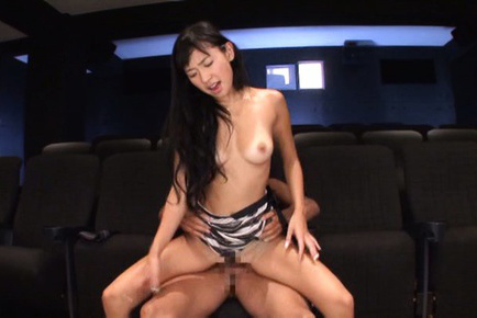 Nana ogura. Nana Ogura Asian is nailed from behind and blow penish at cinema