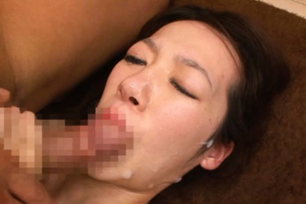 Rina ooshima. Rina Ooshima Asian gets cumshot on mouth after is