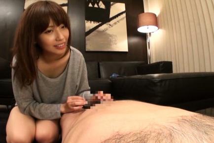 Miyuki yokoyama. Babe Miyuki Yokoyama looks hot making it heavy and gets banged