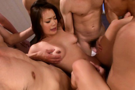 Kana tsuruta. Kana Tsuruta Asian strokes dicks and gets them in