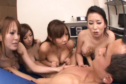 Japanese av model. Excited AV models shows tits and hot bodies for voluminous have sexual intercourse