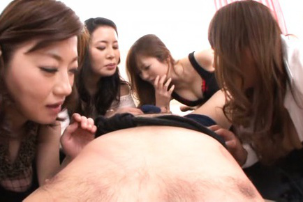 Japanese av model. Hot AV models show horny scene with crazy guy