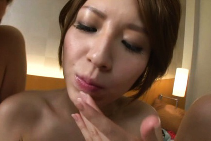 Japanese av model. Hot AV models spread legs for a hot make love with their friends