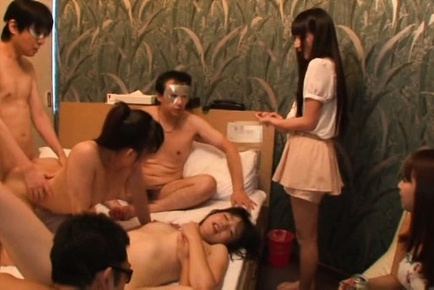 Satou haruka. Satou Haruka Asian and lustful chicks are have sexual intercourse