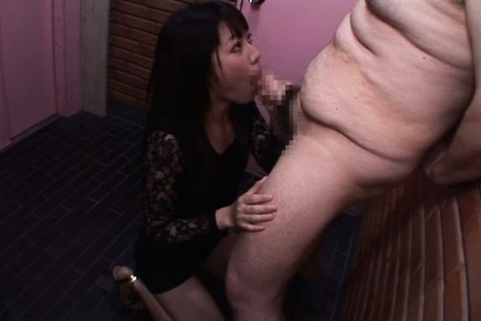 Miku sunohara. Miku Sunohara Asian in lace dress blow and strokes violent dicks