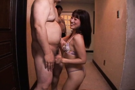 Miku sunohara. Miku Sunohara Asian blowjob tool in front of dude