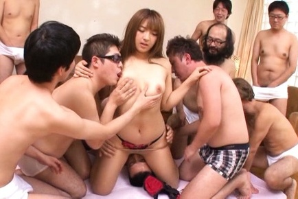 Shiori kamisaki. Shiori Kamisaki Asian has cunt licked and is touched by fellows