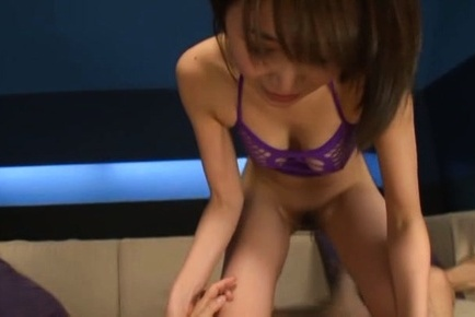 Yuuka tachibana. Yuuka Tachibana and babe with considerable boobs ride hunk rough penis
